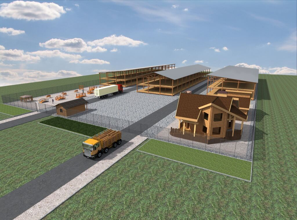 Выставочно-складская площадка в Ивнянском районе