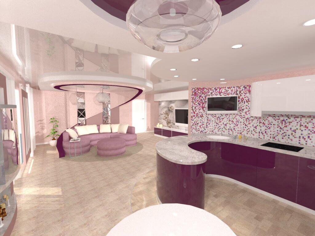 Дизайн-проект квартиры в г.Белгороде